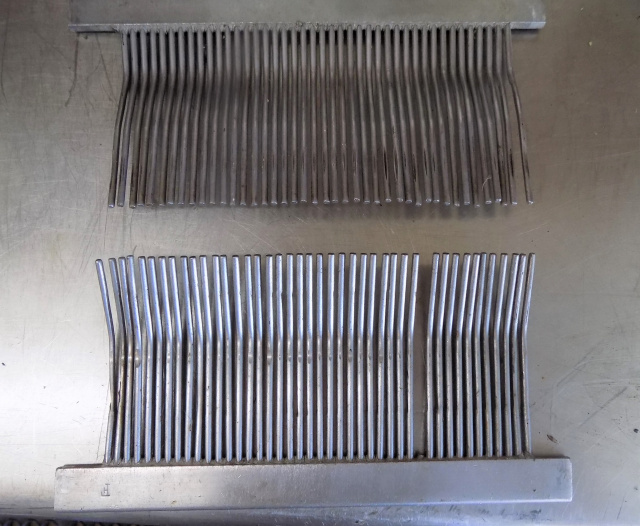 Hobart Steakmaster 200 Front & Back Stripper Parts 117A-2  118A-2 Used E Each Stripper has one Tine