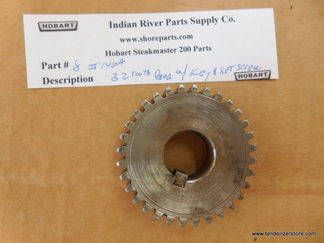 Hobart Steakmaster 200 Front Gear 32 Th w/set Screw Part 146A