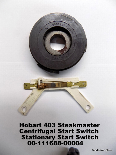 Hobart 403 Steakmaster Old Style Motors with  Centrifugal Start Switch & Stationary Start Switch 00-