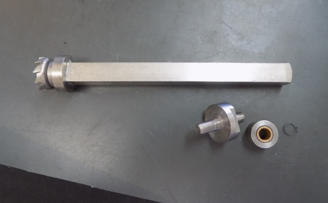 Berkel 703-704-705 Tenderizer Front Shaft  01-404575-00059 & Screw & Bearing Assy 01-404675-00104