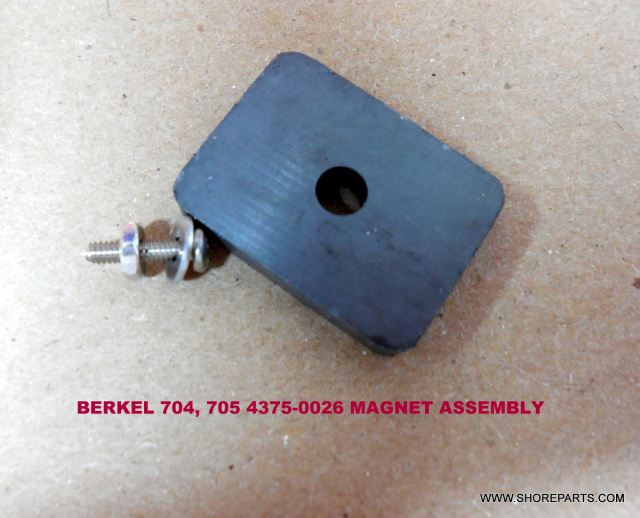 Berkel 704-705 Meat Tenderizer 01-404375-00026   MAGNET, 2-PC ASSEMBLY
