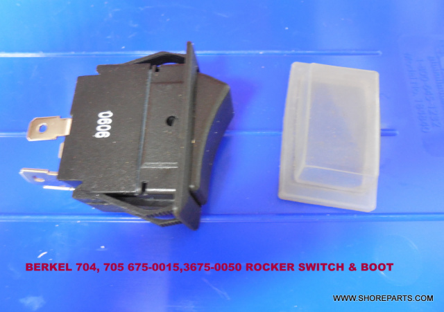 Berkel 704-705 Meat Tenderizer On/Off Rocker Switch 01-402675-00015 Boot 01-403675-00050