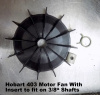 Hobart Model 403 Motor Fan 00-437288 With Insert To Fit on Models with 3/8'' Motor Shaft